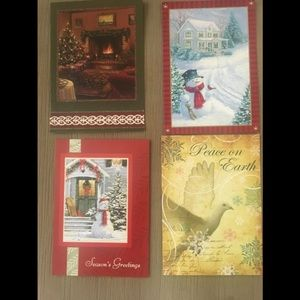 16 Assorted holidays greeting cards